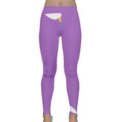 Purple Classic Yoga Leggings
