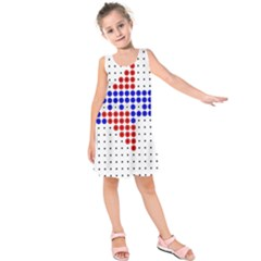 Plane Kids  Sleeveless Dress