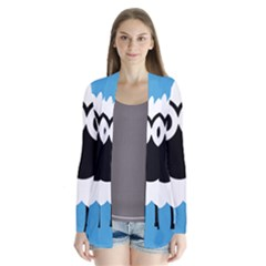 Sheep Animals Bleu Cardigans