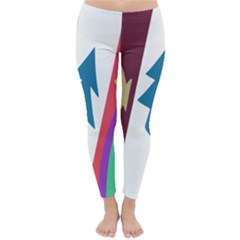 Star Color Classic Winter Leggings