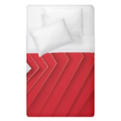 Rank Red White Duvet Cover (Single Size)