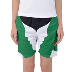 Two Face Women s Basketball Shorts
