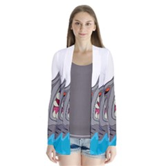 Panda Sharke Blue Sea Cardigans
