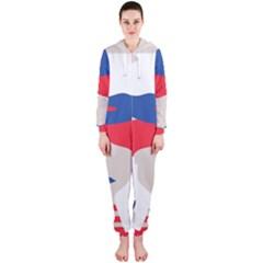 Woman Hooded Jumpsuit (Ladies)