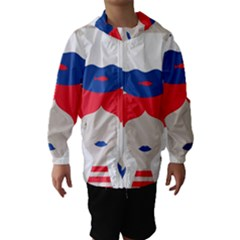 Woman Hooded Wind Breaker (Kids)