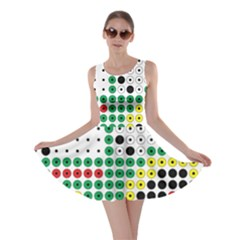 Tractor Perler Bead Skater Dress
