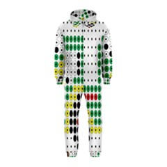 Tractor Perler Bead Hooded Jumpsuit (Kids)