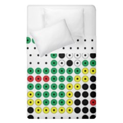 Tractor Perler Bead Duvet Cover Double Side (Single Size)