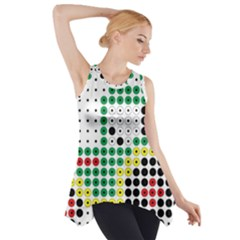 Tractor Perler Bead Side Drop Tank Tunic