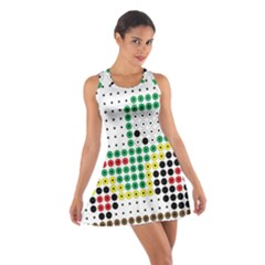 Tractor Perler Bead Cotton Racerback Dress