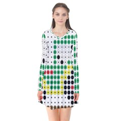 Tractor Perler Bead Flare Dress