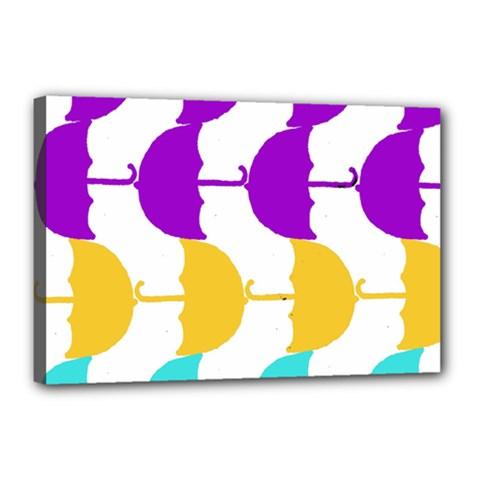 Umbrella Canvas 18  x 12