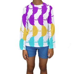 Umbrella Kids  Long Sleeve Swimwear