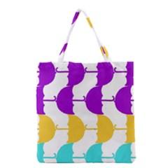 Umbrella Grocery Tote Bag