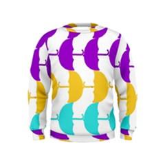 Umbrella Kids  Sweatshirt