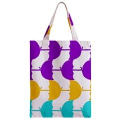 Umbrella Zipper Classic Tote Bag