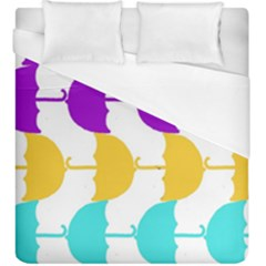 Umbrella Duvet Cover (King Size)