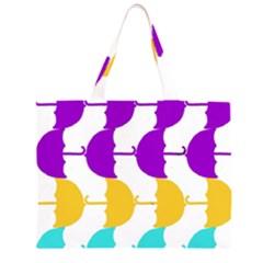 Umbrella Large Tote Bag