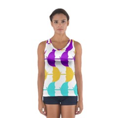 Umbrella Women s Sport Tank Top