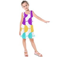 Umbrella Kids  Sleeveless Dress