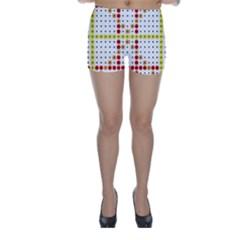 Vertical Horizontal Skinny Shorts