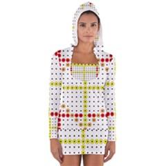 Vertical Horizontal Women s Long Sleeve Hooded T-shirt