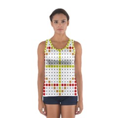 Vertical Horizontal Women s Sport Tank Top