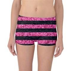 STR2 BK-PK MARBLE Reversible Bikini Bottoms