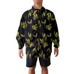 Dark Floral Print Wind Breaker (Kids)