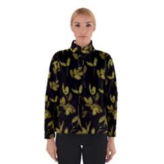 Dark Floral Print Winterwear
