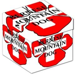 Ber Mt Dog Name Paw Switzerland Flag Storage Stool 12