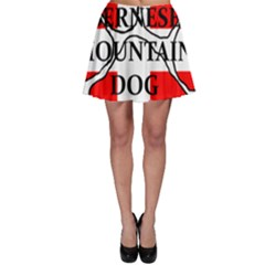Ber Mt Dog Name Paw Switzerland Flag Skater Skirt