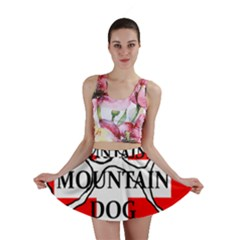 Ber Mt Dog Name Paw Switzerland Flag Mini Skirt