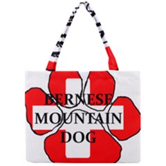 Ber Mt Dog Name Paw Switzerland Flag Mini Tote Bag