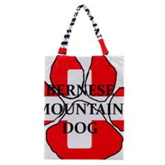 Ber Mt Dog Name Paw Switzerland Flag Classic Tote Bag