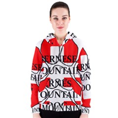 Ber Mt Dog Name Paw Switzerland Flag Women s Zipper Hoodie