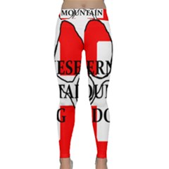 Ber Mt Dog Name Paw Switzerland Flag Classic Yoga Leggings