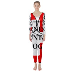 Ber Mt Dog Name Paw Switzerland Flag Long Sleeve Catsuit