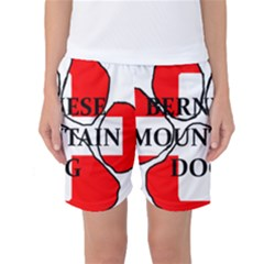 Ber Mt Dog Name Paw Switzerland Flag Women s Basketball Shorts
