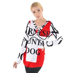 Ber Mt Dog Name Paw Switzerland Flag Women s Tie Up Tee