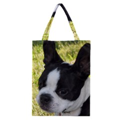 Boston Terrier Puppy Classic Tote Bag