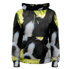 Boston Terrier Puppy Women s Pullover Hoodie