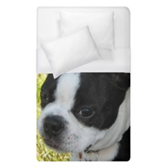 Boston Terrier Puppy Duvet Cover (Single Size)