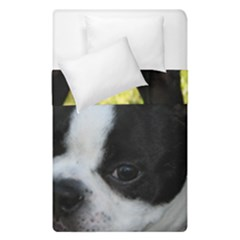 Boston Terrier Puppy Duvet Cover Double Side (Single Size)