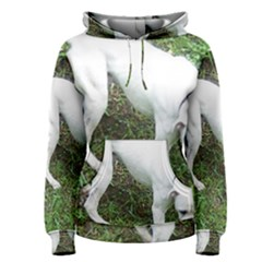 Boxer White Puppy Full Women s Pullover Hoodie
