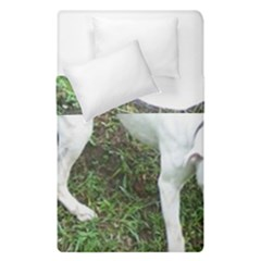 Boxer White Puppy Full Duvet Cover Double Side (Single Size)