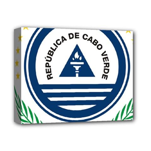 National Emblem of Cape Verde Deluxe Canvas 14  x 11
