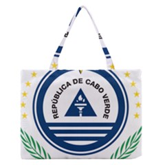 National Emblem of Cape Verde Medium Zipper Tote Bag
