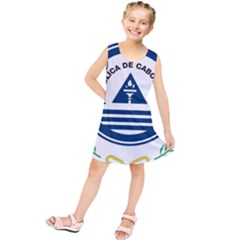 National Emblem of Cape Verde Kids  Tunic Dress