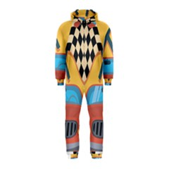 Automobile Car Checkered Drive Hooded Jumpsuit (Kids)